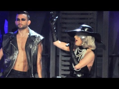 "Lady Gaga performs ""Marry The Night"" - Children in Need Rocks Manchester - BBC"