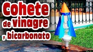 getlinkyoutube.com-Cohete casero de vinagre y bicarbonato de sodio │ Experimento Fácil