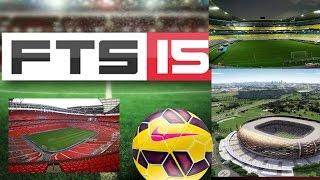 Como cambiar los estadios de FTS 15