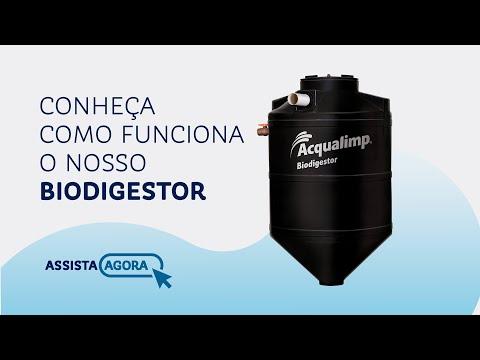 Aprenda como funciona o Biodigestor Acqualimp!