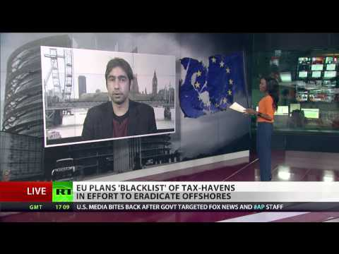 LAX ON TAX: EU plans 'blacklist' of tax-havens in effort to eradicate offshores