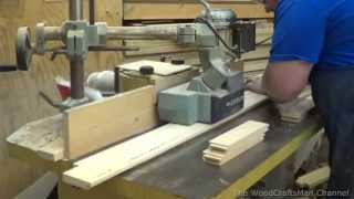 getlinkyoutube.com-Building Custom Oak Cabinets Episode 2-Making The Doors and Drawer Fronts Part 1