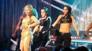 Kat Deluna performing Party O'clock at the Viage in Brussels (Live)