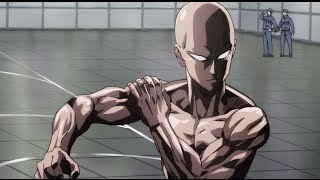 getlinkyoutube.com-One Punch Man - Fitness test
