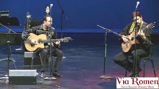 getlinkyoutube.com-Vengerka/Two guitars. Russian-Romany (Gypsy). Vadim Kolpakov & Via Romen