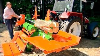 getlinkyoutube.com-Posch Splitmaster 30t wood splitter