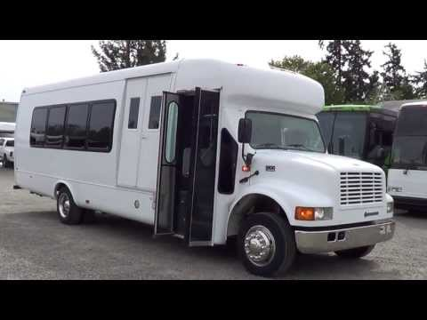 Northwest Bus Sales - 2002 IC Startrans 19 + 2 Wheelchair Rear Luggage Bus For Sale - S07078