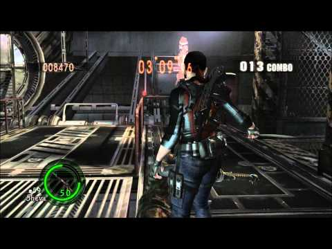 Resident Evil 5 mod - Claire Redfield (Jill reskin) v 3.0