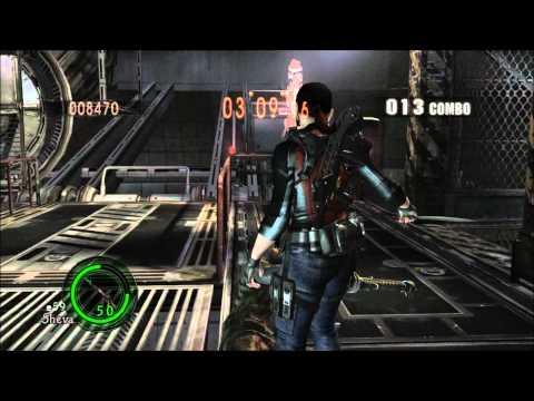 Resident Evil 5 mod - Claire Redfield (Jill reskin) v 3.0