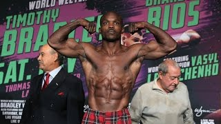 Bradley vs. Rios: Tim Bradley Jr. Interview - Weigh-ins - Parting Shots