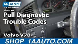How to Pull up Volvo Diagnostic Trouble Codes, Insights to potential problems