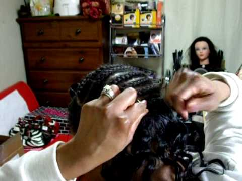 Micro Braids and Sew-In