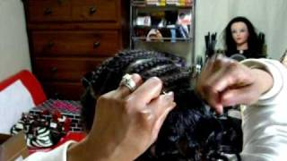 getlinkyoutube.com-Micro Braids and Sew-In