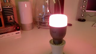 getlinkyoutube.com-Xiaomi Yeelight LED Bulb Review!