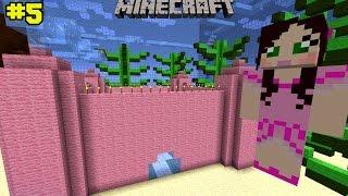 getlinkyoutube.com-Minecraft: Notch Land - PINK CASTLE PARKOUR [5]