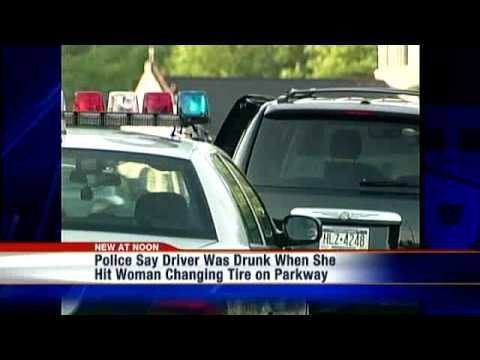 Driver Who Hit Woman Changing Tire On Parkway Charged With DUI