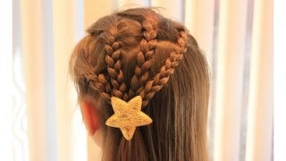 getlinkyoutube.com-みつ編み Simple Braid