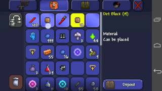 getlinkyoutube.com-Platinum coins in seconds! Terraria android! (Not working with 1.2+)