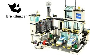 getlinkyoutube.com-Lego City 7744 Police Headquarters - Lego Speed Build