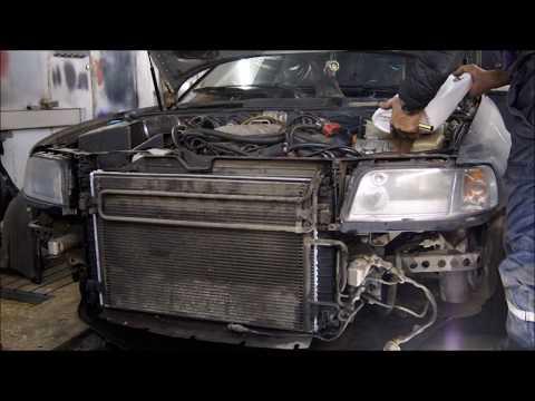 Audi s8 d2 замена радиатора