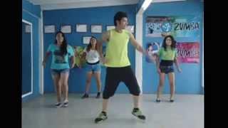 getlinkyoutube.com-Zumba Pitbull ft. Jennifer Lopez & Claudia Leitte - We Are One (Ole Ola) choreography