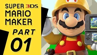 getlinkyoutube.com-Super Mario Maker 3DS - Super Mario Challenge: WORLD 01