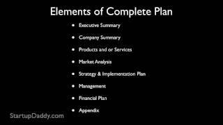getlinkyoutube.com-How To Write A Business Plan | How To Start A Business