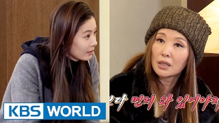 getlinkyoutube.com-Lee Misook is angry because of Yoon Soy who came late? [Guesthouse Daughters / 2017.02.21]