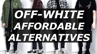 getlinkyoutube.com-OFF WHITE Affordable Alternatives | Mens Fashion, Streetwear, Luxury, Options | Gallucks