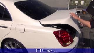 getlinkyoutube.com-洗車 車の実践 手洗い方法動画 クラウン 18マジェスタ【Car wash】