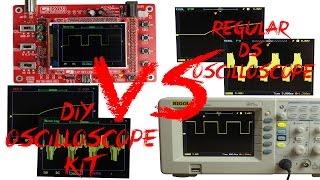 DIY Oscilloscope Kit (20$) VS Regular DS Oscilloscope (400$)