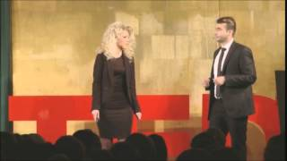 Tablets to grasp for blind people: Kristina Tsvetanova & Slavi Slavev at TEDxAmRing