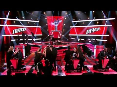Delta Goodrem & Seal, Poker Face: The Voice Australia Season 2