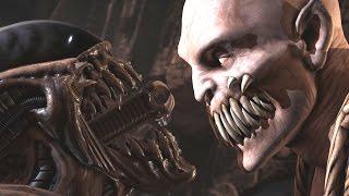 Mortal Kombat XL - All Fatalities/Stage Fatalities on Baraka (Including Kombat Pack 2)