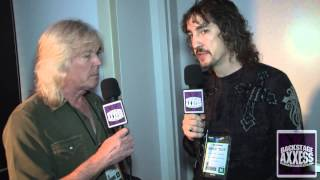BackstageAxxess interviews Cliff Williams of AC/DC at NAMM 2013.