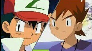Pokémon Ash vs Gary johto league Battle...