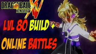 getlinkyoutube.com-DragonBall Xenoverse My Level 80 Relentless Female Saiyan Build + Online Battles