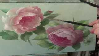 getlinkyoutube.com-How to paint a rose