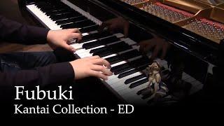 getlinkyoutube.com-Fubuki - Kantai Collection ED [piano]