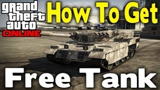 "GTA Online - How To Get ""FREE TANK"" (Easy & Best Way) [GTA V Multiplayer]"