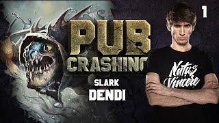 getlinkyoutube.com-Pubs Crashing: Dendi on Slark vol.1