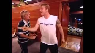 "getlinkyoutube.com-Nick and Aaron Fight on their Reality Show ""House of Carters"""