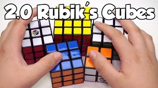 getlinkyoutube.com-Taking a Look At Some of the New Rubik's 2.0 Cubes