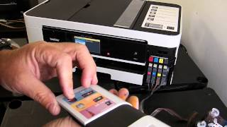 getlinkyoutube.com-Ciss continuous ink system fits brother lc123, lc125, lc127 printer