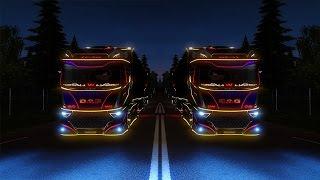getlinkyoutube.com-Euro Truck Simulator 2 | Daf Evo Wing With Trailer Mod | 1.21