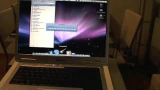 getlinkyoutube.com-Dell inspiron 6400 Mac os x Leopard
