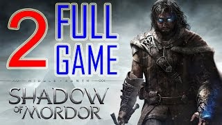 Middle Earth Shadow of Mordor Walkthrough Part 2 PS4 Gameplay lets play playthrough - No Commentary