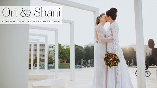 getlinkyoutube.com-Ori & Shani | Lesbian Jewish wedding from Tel Aviv, Israel