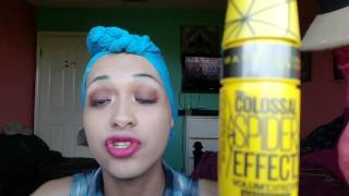 getlinkyoutube.com-Maybelline Spider effect mascara!!!