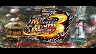 """getlinkyoutube.com-Monster Hunter Portable 3rd (PSP) """"Explicando como o game funciona"""""""